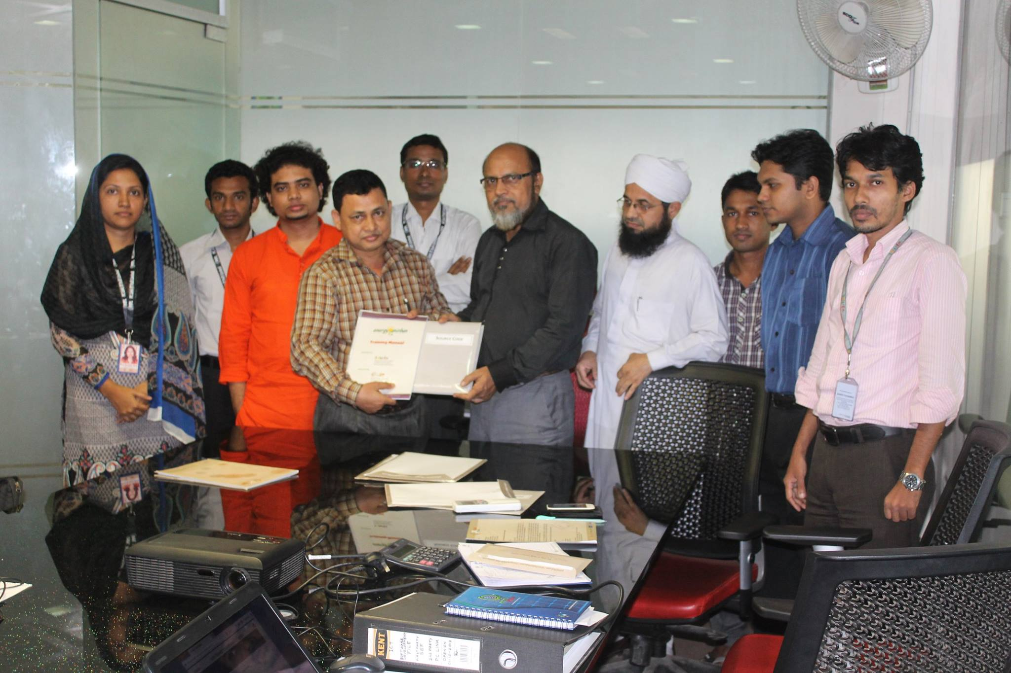 "Contract Signing with Solaren Foundation for implementing ""Energy Anirban"""