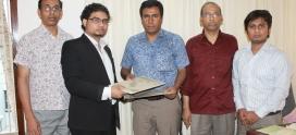 "Contract Signing with CARSA for implementing ""Microfin Anirban"""