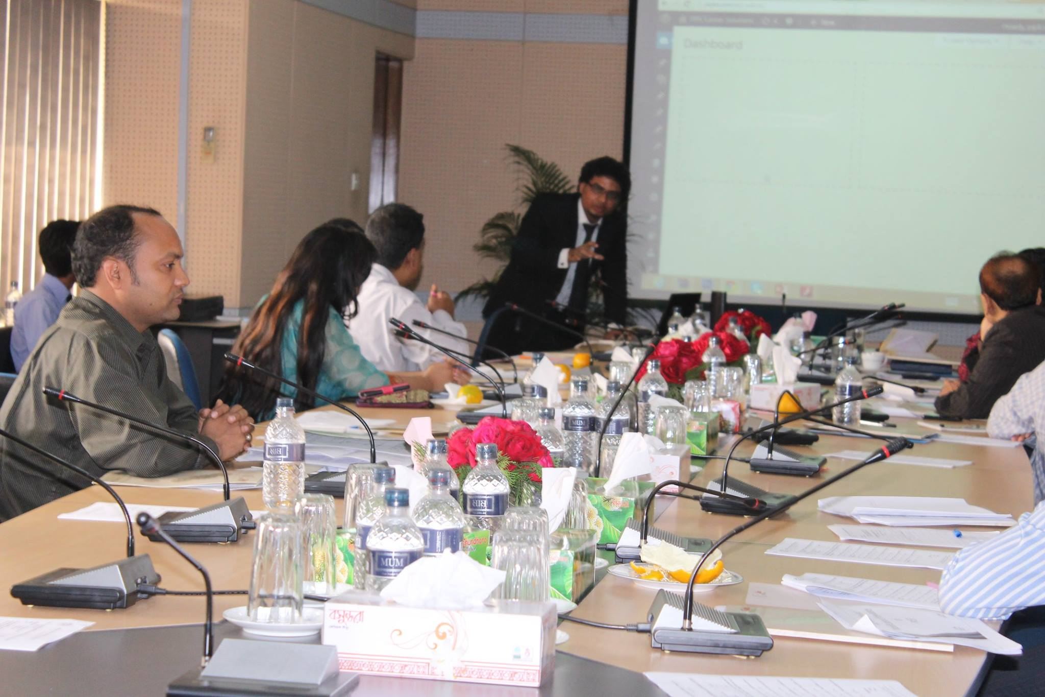Presentation on PKSF on implementation of Web Portal