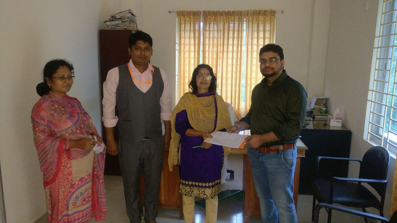PC Link had contracted with &#8220;Socio Economic Development<br> Agency (SEDA), Manikganj